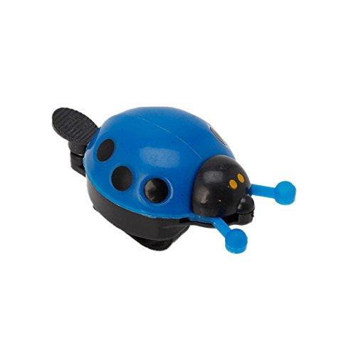 Stebcece Kid Children Ladybug Bike Bicycle Cycling Handlebar Ring Sound Bell Horn Alarm (blue)