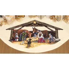 (Dimensions(R) 45 Inch Counted Cross Stitch - Nativity Scene Tree Skirt)