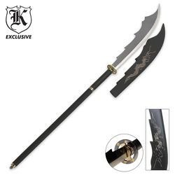 Black Dragon Naginata