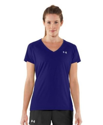 Under Armour Women's Short Sleeve V-Neck Tops (Extra-Small) by Under Armour (Image #1)