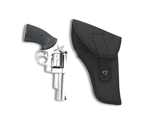 American Mountain Supply 20204BLK Flap Holster 4in 4 Black