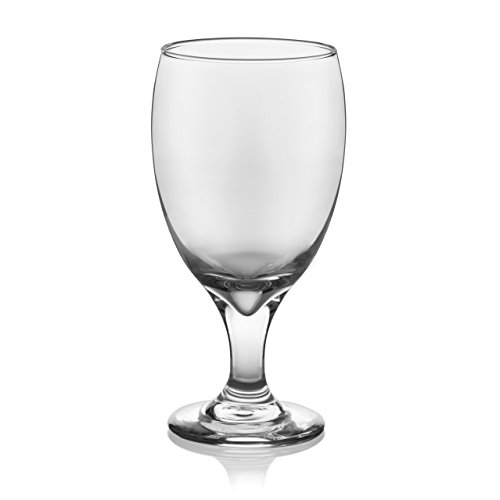 Libbey Goblet Party Glass Set, 12-16.25 ounce Goblet Glasses, 7 inch height, Lead-Free, 12-piece by Libbey (Image #1)
