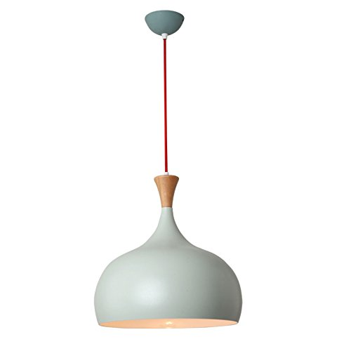 Macaroon Simple (Nordic Modern Pendant Lamp, LED E27 Macaroon Restaurant Business Chandelier Simple Bar Personality Lamps Solid Color Solid Wood Ceiling Lights ( Color : Green ))