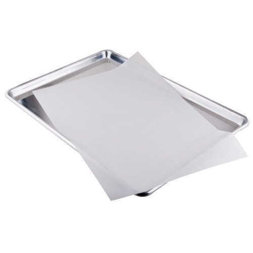 1 X Parchment Paper for Baking Pan Liners 110 Sheets Silicone Treated 12 x 16 by PanPal