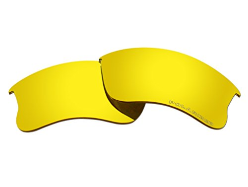 Polarized Replacement Sunglasses Lenses for Oakley Flak Jacket XLJ with UV Protection ()