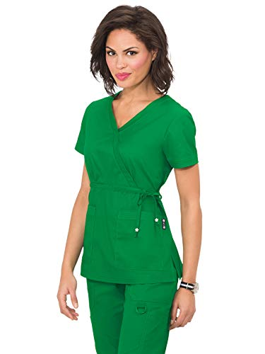 KOI Classics 137 Women's Katelyn Scrub Top Emerald S -