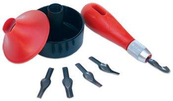 Essdee : Lino 3 in 1 Cutting Tool Set, Baren, Handle and 5 Blades by Essdee