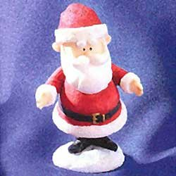 Rudolph And The Island Of Misfit Toys - 1999 Enesco Rudolph and the Island of Misfit Toys Figurine - Santa (857823)