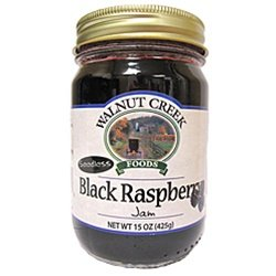 Walnut Creek Seedless Black Raspberry Jam 15 oz (Seedless Black Raspberry Jam)
