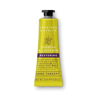 Crabtree & Evelyn Verbena & Lavender Hand Cream Therapy - 0.86 oz