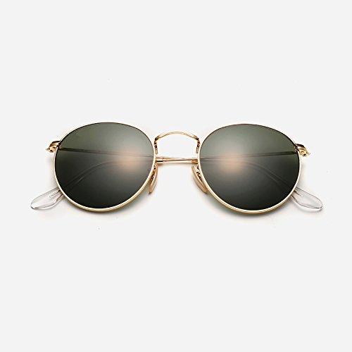 Sol Mujer para Sol Anti zhenghao Gafas De Moda Y Ultravioleta De Gafas Xue Black Verde De tXI88