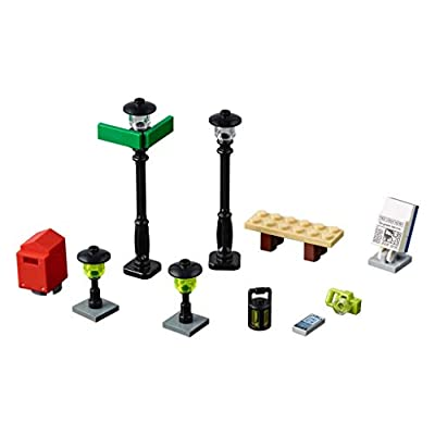 LEGO Street Accessories polybag (xtra) 40312: Toys & Games
