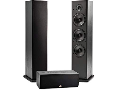 Best Deals! Polk Audio T Series 3 Channel Home Theater Bundle | Includes One (1) T30 Center Channel ...