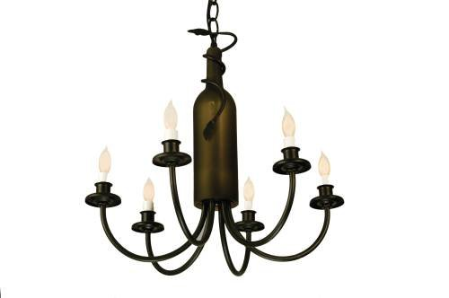Meyda Lighting 65616 17 5 W Tuscan Vineyard Frosted Green 6