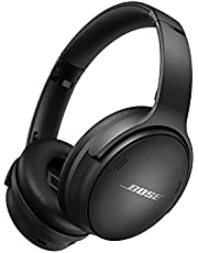 Bose QuietComfort 45 Noise Cancelling Headphones with Built-in Microphone for Clear Calls and Alexa Voice Control, Black