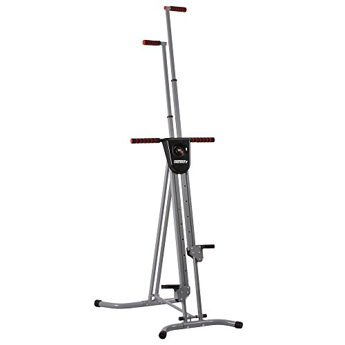 OneTwoFit Vertical Climber Climbing Step Machine Fitness Exercise Climber Stepper Full Total Body Workout with Digital Display for Home Gym OT046 by OneTwoFit