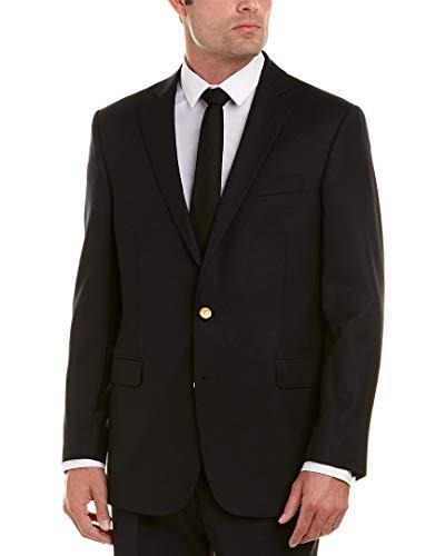 Brooks Blazer - Brooks Brothers Mens Explorer Regent Fit Wool-Blend Sportcoat, 44R, Blue