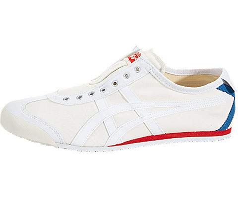 on sale 11915 b77ee Onitsuka Tiger by Asics Unisex Mexico 66¿ Slip-On White/White 2 11 Women /  9.5 Men M US