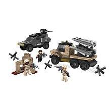 True Heroes Exclusive Mega Bloks Set Army Missile Battle