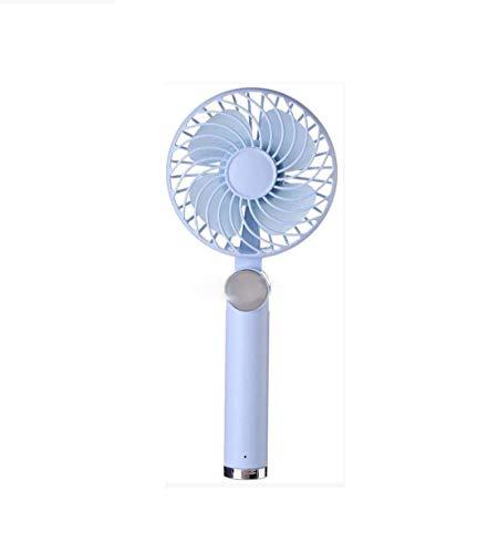 NGXIWW Ventilador De Mano, Abanico Plegable Recargable USB, Ventilador De 4 Pulgadas Portatil De Tres Velocidades De Viento De Escritorio para IR De Compras Al Aire Libre En El Hogar