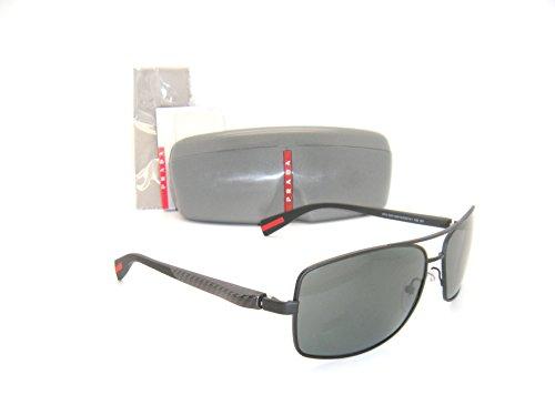 New & Authentic Prada Sunglasses OPS 50OS DG01A1 62mm Black Frame / Dark Grey by Prada