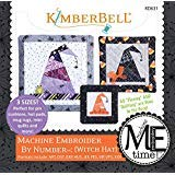 (Machine Embroider by Number Witch Hat In the Hoop Machine Embroidery CD by KimberBell)