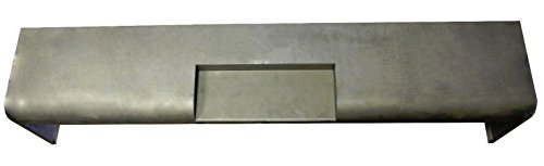Motor City Sheet Metal - Works With 1951-1956 FORD TRUCK F100 F-100 Pickup STEEL Roll Pan with License Box Center