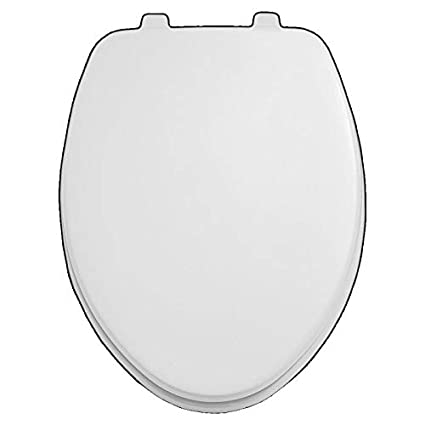 American Standard Toilet Seats >> American Standard 5311 012 020 Laurel Elongated Toilet Seat With Cover White