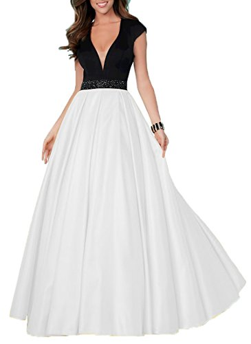 long black and white prom dresses - 8