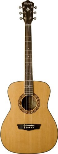 Washburn WF11S Heritage Series Solid Cedar/Mahogany Folk Guitar 【TEA】 [並行輸入品] B07DZGPKGL