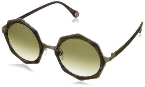 Raen Luci Round Sunglasses,Patti & Japanese Gold,49 - Glasses Japanese Frames