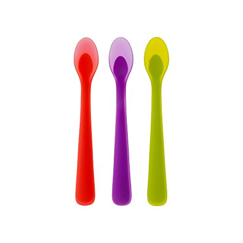 The First Years Soft Serve Silicone Infant Spoons (Pack of 3) (Silicone Spoons Baby compare prices)