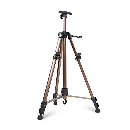 - ZLH Easel-155cm Folding Aluminum Easel Light Material Standable Desktop Display Stand for Adult Children's Board Stand (Color : A)