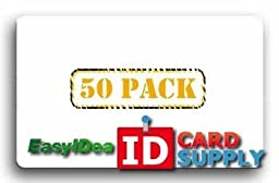 50 Crystal Clear Self Stick ID Overlays, Thin .05 Mil