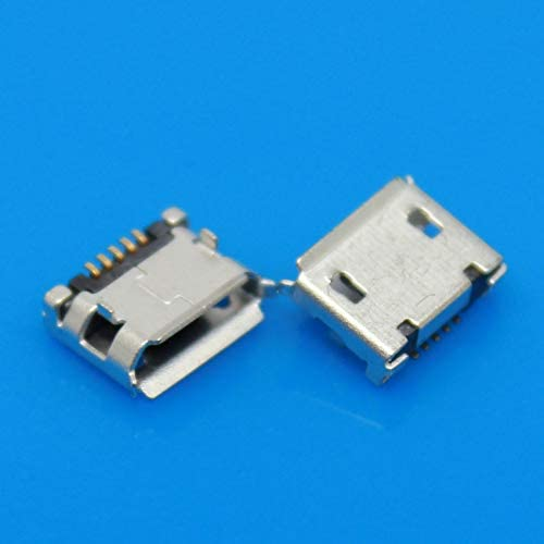 Cables Micro USB Jack Connector Charge Socket for Lenovo A60 A366T A390E A520 A288T A500 A750 PAD A1-07 Mobile Phone Plug Tablet pc Cable Length: 50PCS