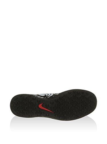 Nike Damen Laufjacke Storm Fly Negro / Blanco (Black / Bright Crimson-White)