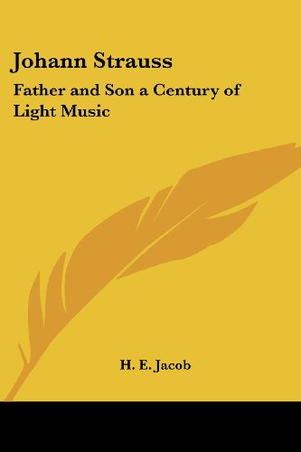Price comparison product image Johann Strauss: Father and Son a Century of Light Music