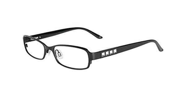 63855fcb033 Bebe Prescription Eyeglasses - 5039 001 - Jet (51 17 135) at Amazon Men s  Clothing store  Prescription Eyewear Frames