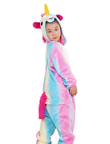 Kids Animal Onesie Unicorn Pajamas for Boys and Girls -