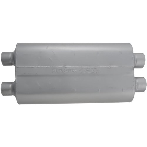Flowmaster 530504 50 Big Block Muffler - 3.00 Dual IN / 2.50 Dual OUT - Mild Sound (Flowmaster Muffler Silverado compare prices)