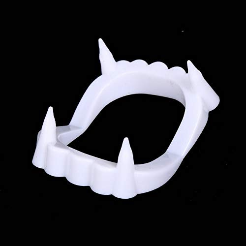 STORE-HOMER - 1pcs New Toy Vampire Fake Teeth For Halloween Party Prop Masquerade Cosplay Makeup Funny Dentures