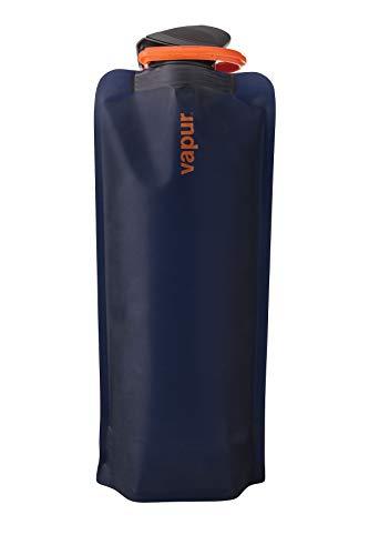 Vapur - Eclipse 0.7L BPA Free Foldable Flexible Water Bottle w/Carabiner (Night Blue)