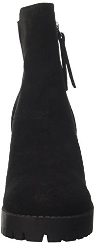 Steve Madden Women's Toni Ankle Boots Black (Black Suede) RlAQbrUL