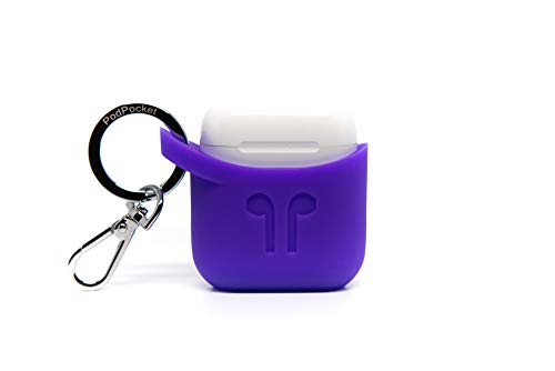 Compatible with Apple Airpod KEYCHAIN Carrying Case By