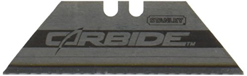 Stanley 11-800T Carbide Utility Blade, 10-Pack