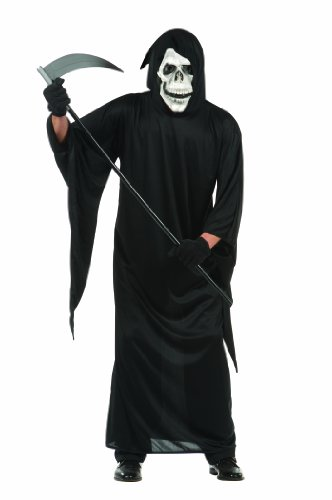 RG Costumes Men's Grim Reaper, Black, One (Easy Grim Reaper Costume)