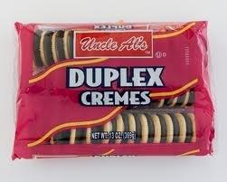 - Uncle Al's Duplex Cremes Sandwich Cookies 5 Oz. (Pack of 12)