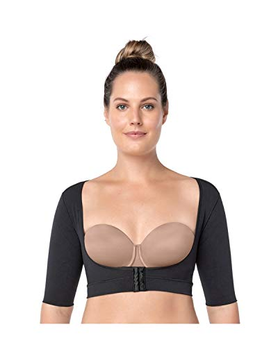 Leonisa Seamless Upper Arm Shaper Slimming Compression Vest with Posture Corrector