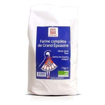 Harina de espelta integral, Celnat 5 Kg: Amazon.es: Alimentación y ...