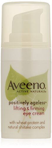 Aveeno Active Naturals Positively Ageless Lifting & Firming Eye Cream with Natural Shitake Complex, 0.5 Ounce